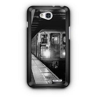 YuBingo Train Designer Mobile Case Back Cover for LG L90