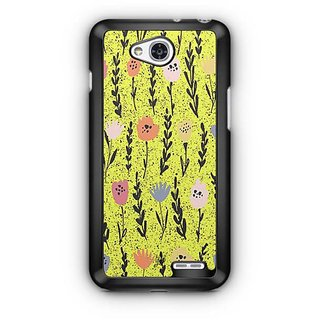 YuBingo Colourful flowers Designer Mobile Case Back Cover for LG L90