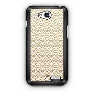 YuBingo Semi Circle Pattern Designer Mobile Case Back Cover for LG L90