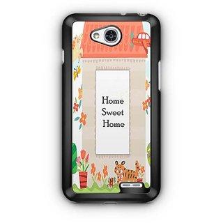 YuBingo Home Sweet Home Designer Mobile Case Back Cover for LG L90