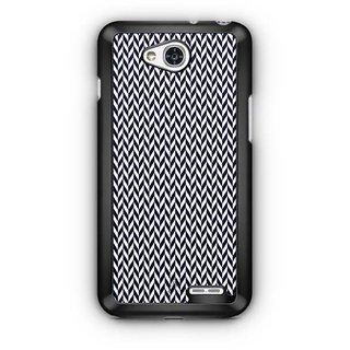 YuBingo Black arrow pattern Designer Mobile Case Back Cover for LG L90