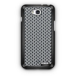YuBingo Black and white maze pattern Designer Mobile Case Back Cover for LG L90