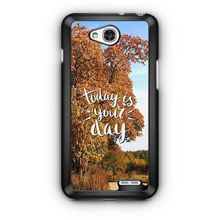 YuBingo Today is your day Designer Mobile Case Back Cover for LG L90