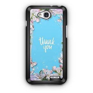 YuBingo Thank You Designer Mobile Case Back Cover for LG L90