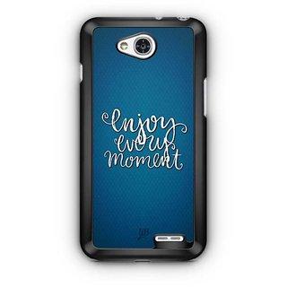 YuBingo Enjoy Every Moment Designer Mobile Case Back Cover for LG L90