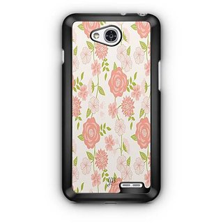 YuBingo Rose and leaf pattern Designer Mobile Case Back Cover for LG L90