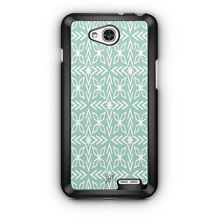 YuBingo Green pattern Designer Mobile Case Back Cover for LG L90