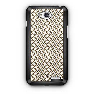 YuBingo Brown triangle pattern Designer Mobile Case Back Cover for LG L90