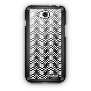 YuBingo Black and white Abstract Design Designer Mobile Case Back Cover for LG L90