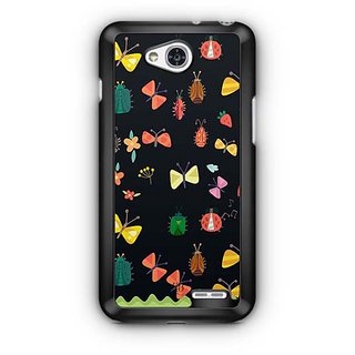 YuBingo Flowers and insects pattern Designer Mobile Case Back Cover for LG L90