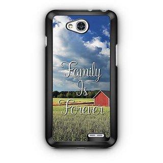 YuBingo Family is Forever Designer Mobile Case Back Cover for LG L90