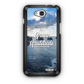 YuBingo Grow Gratitude Designer Mobile Case Back Cover for LG L90