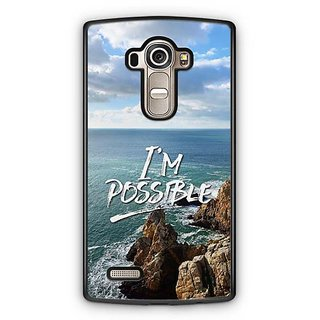 YuBingo I'm Possible Designer Mobile Case Back Cover for LG G4