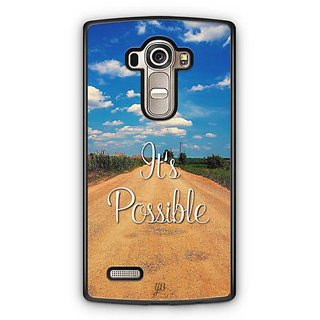 YuBingo It's Possible Designer Mobile Case Back Cover for LG G4