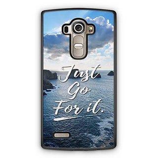 YuBingo Just Go For It Designer Mobile Case Back Cover for LG G4