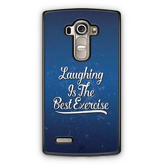 YuBingo Laughing is the Best Exercise Designer Mobile Case Back Cover for LG G4