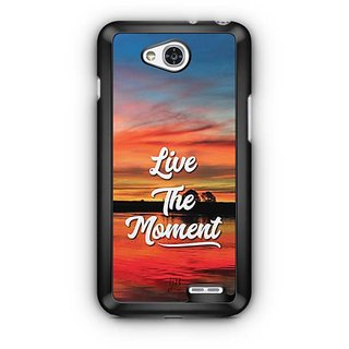YuBingo Live the Moment Designer Mobile Case Back Cover for LG L90