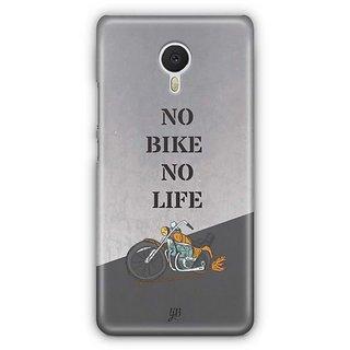 YuBingo No Bike No Life Designer Mobile Case Back Cover for Meizu M3 Note