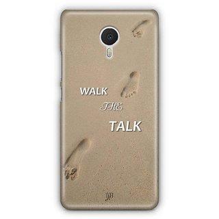 YuBingo Walk the Talk Designer Mobile Case Back Cover for Meizu M3 Note
