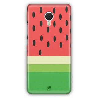 YuBingo Watermelon Designer Mobile Case Back Cover for Meizu M3 Note