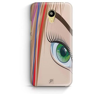 YuBingo Look at my Eye Designer Mobile Case Back Cover for Meizu M3