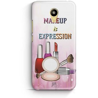 YuBingo Makeup is Expression Designer Mobile Case Back Cover for Meizu M3