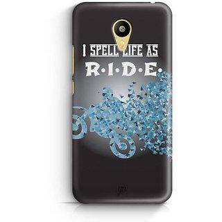 YuBingo I spell Life as R.I.D.E. Designer Mobile Case Back Cover for Meizu M3