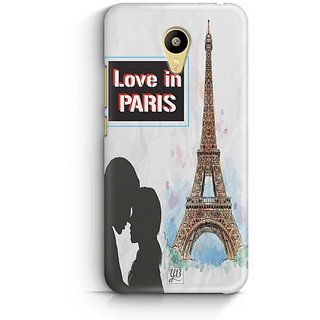 YuBingo Love in Paris Designer Mobile Case Back Cover for Meizu M3