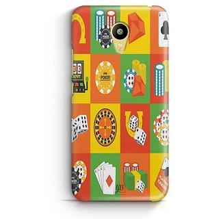 YuBingo Poker Designer Mobile Case Back Cover for Meizu M3