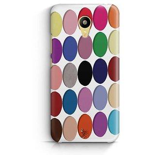 YuBingo Colourful Circles Pattern Designer Mobile Case Back Cover for Meizu M3