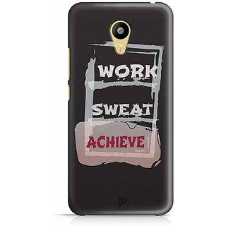 YuBingo Work, Sweat, Achieve Designer Mobile Case Back Cover for Meizu M3