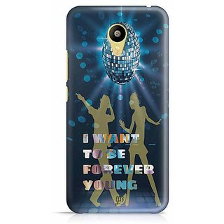 YuBingo I want to be Forever Young Designer Mobile Case Back Cover for Meizu M3
