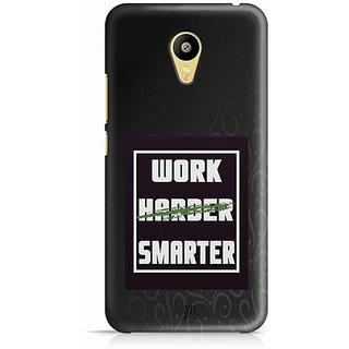 YuBingo Work Smarter Designer Mobile Case Back Cover for Meizu M3