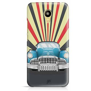 YuBingo Vintage Car Designer Mobile Case Back Cover for Meizu M3