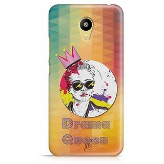 YuBingo Drama Queen Designer Mobile Case Back Cover for Meizu M3
