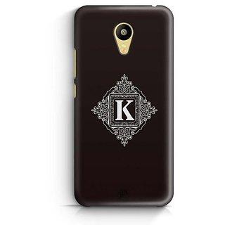 YuBingo Monogram with Beautifully Written letter K Designer Mobile Case Back Cover for Meizu M3
