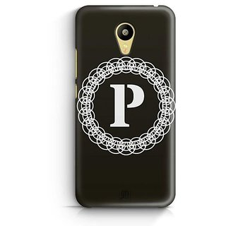 YuBingo Monogram with Beautifully Written letter P Designer Mobile Case Back Cover for Meizu M3