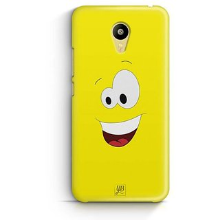 YuBingo Amazed Smiley Designer Mobile Case Back Cover for Meizu M3