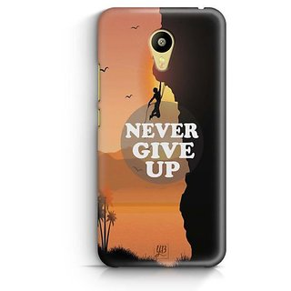 YuBingo Never Give Up Designer Mobile Case Back Cover for Meizu M3