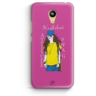 YuBingo All about Attitude and Swag Designer Mobile Case Back Cover for Meizu M3