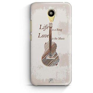 YuBingo Life is a Song Designer Mobile Case Back Cover for Meizu M3