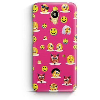 YuBingo Smileys in Various Avatars Designer Mobile Case Back Cover for Meizu M3