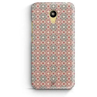 YuBingo Square Patterns Designer Mobile Case Back Cover for Meizu M3
