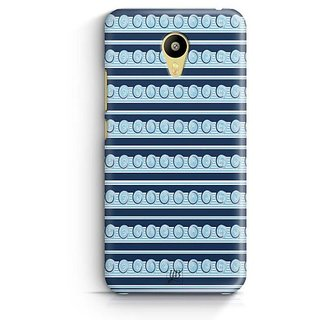 YuBingo Circles and Stripes Designer Mobile Case Back Cover for Meizu M3