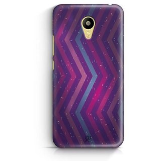 YuBingo Zig Zag Pattern with Confetti Designer Mobile Case Back Cover for Meizu M3