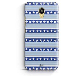 YuBingo Stars and Stripes Designer Mobile Case Back Cover for Meizu M3