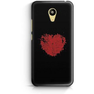 YuBingo Heart Designer Mobile Case Back Cover for Meizu M3