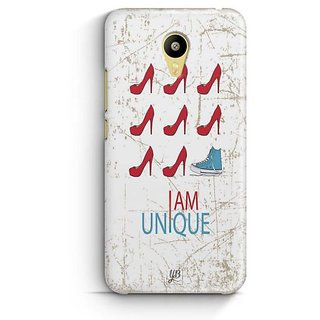 YuBingo I am Unique Designer Mobile Case Back Cover for Meizu M3