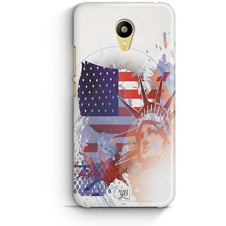 YuBingo Statue of Liberty Designer Mobile Case Back Cover for Meizu M3