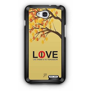 YuBingo Love / Live Like There's No Tomorrow! Designer Mobile Case Back Cover for LG L90
